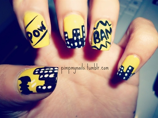 Bat Man Nail Art 12 35 Designs Of Batman For