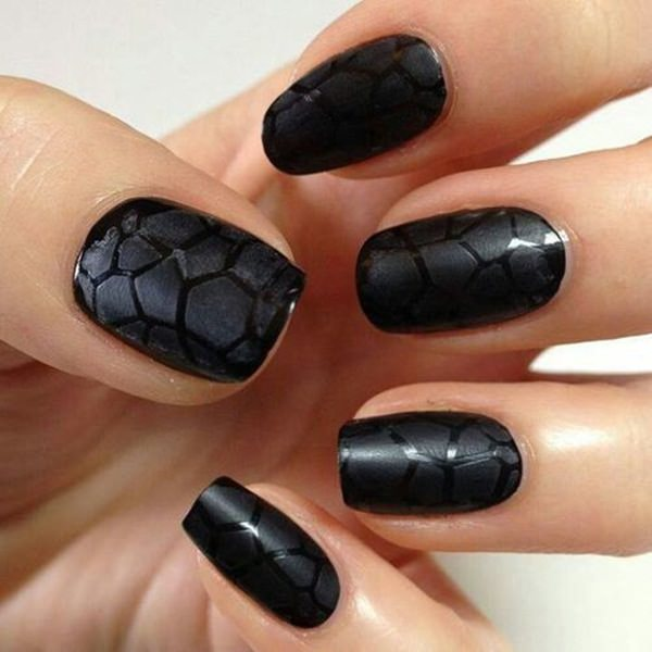 Black And White Nail Designs 16