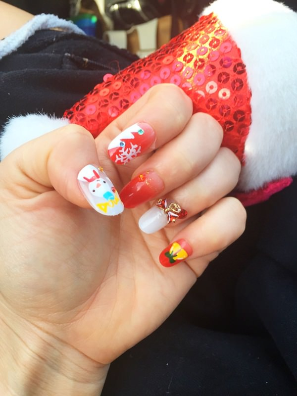 Christmas Pudding 20 Fantastic Diy Nail Art Designs That Are Borderline Genius