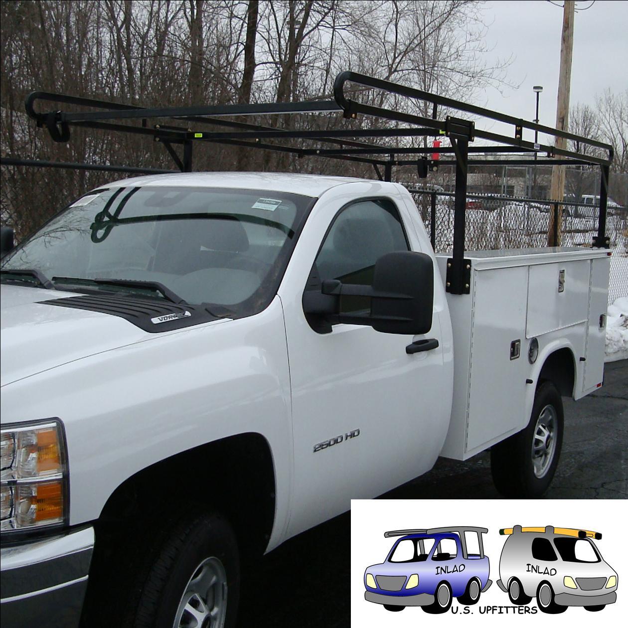 weather guard steel service body rack
