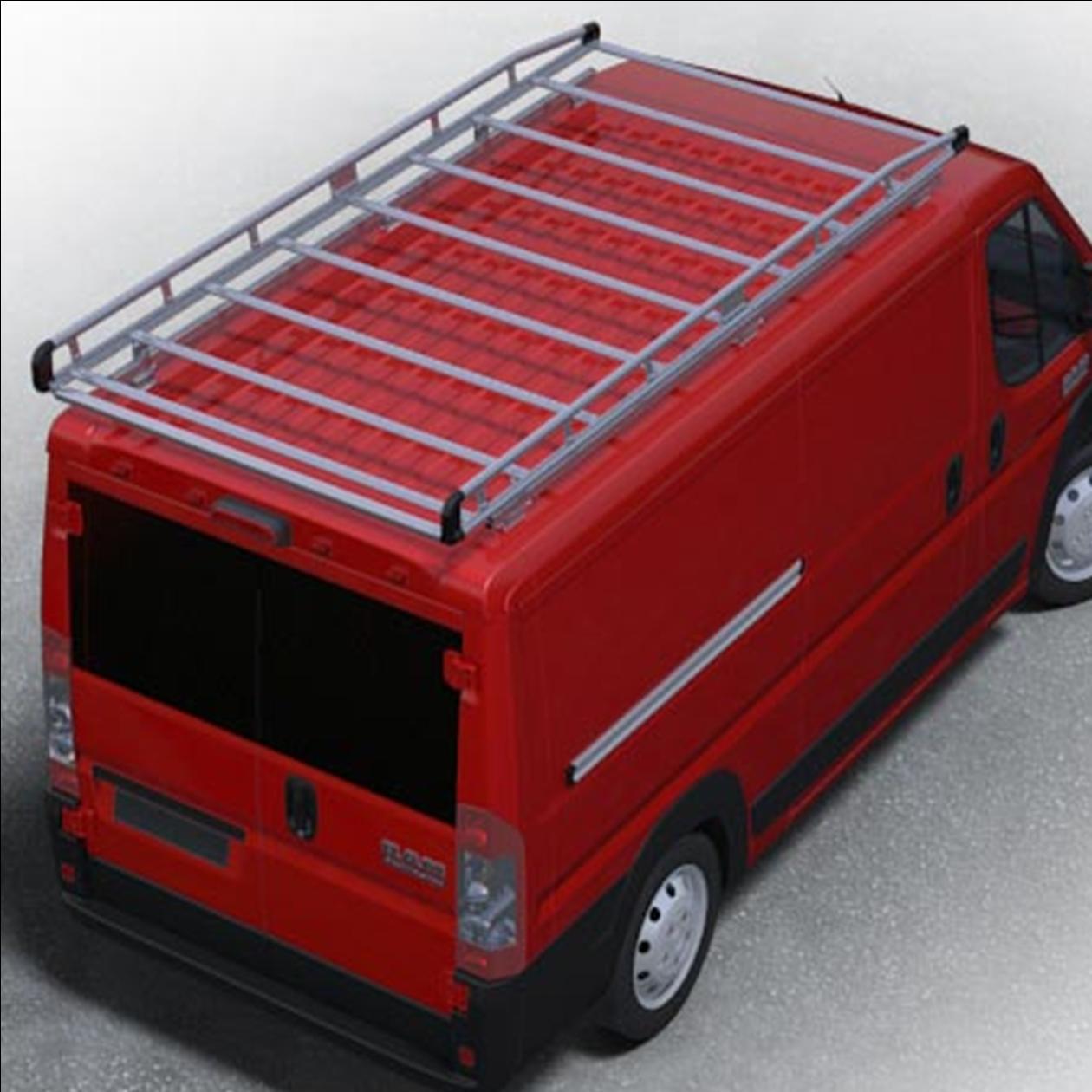 alurack for dodge ram promaster 159 extended wb high roof van ar1425