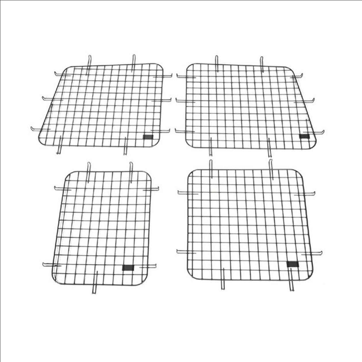Adrian Steel Complete Wire Window Screen Kit For Ford Fsv