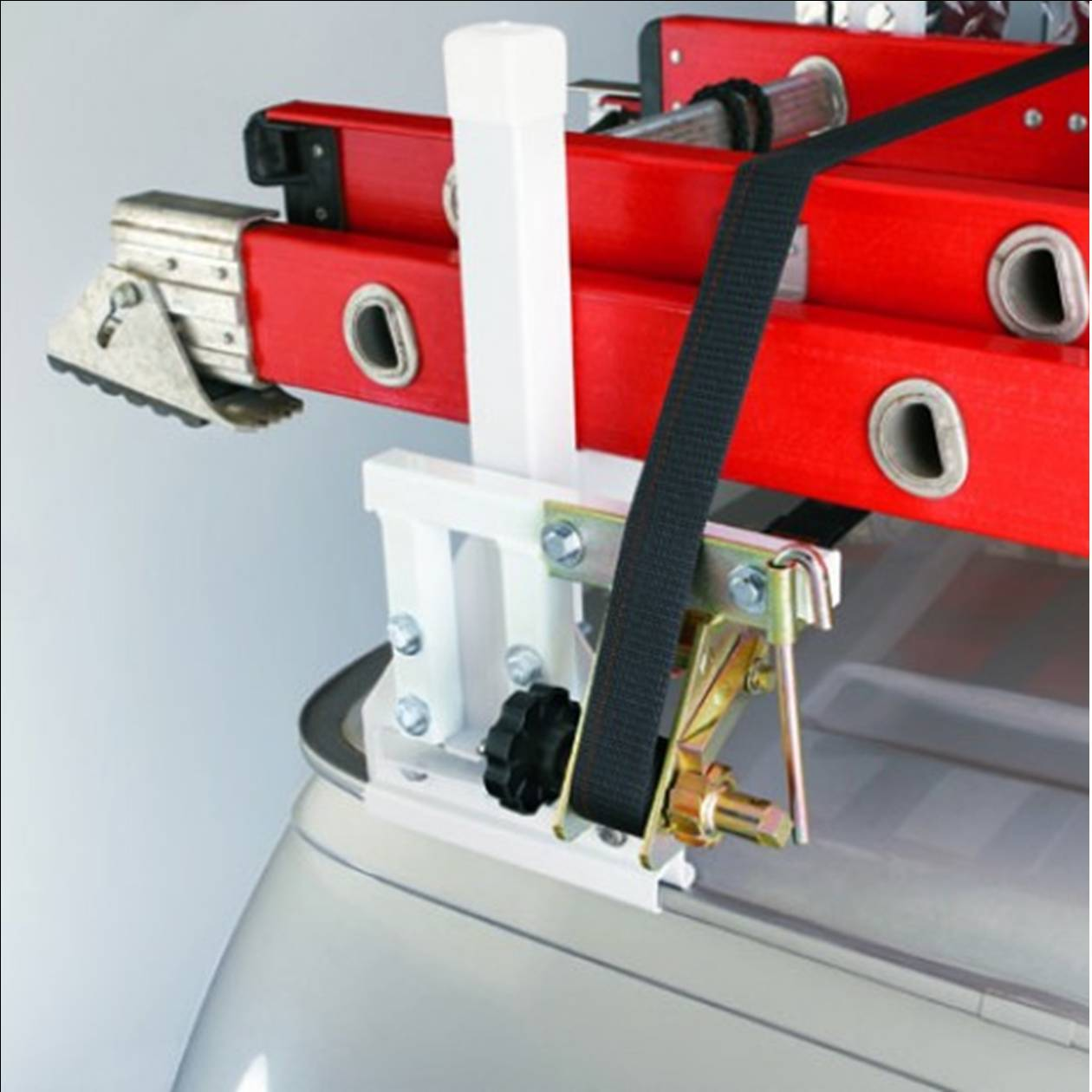 mounting adapter and mounting for weather guard van racks model 5