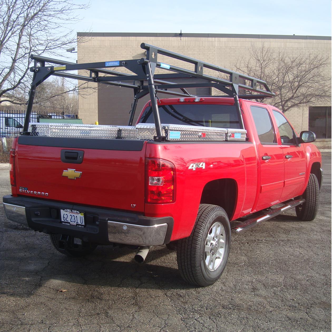 adrian steel load runner full size truck racks model slr