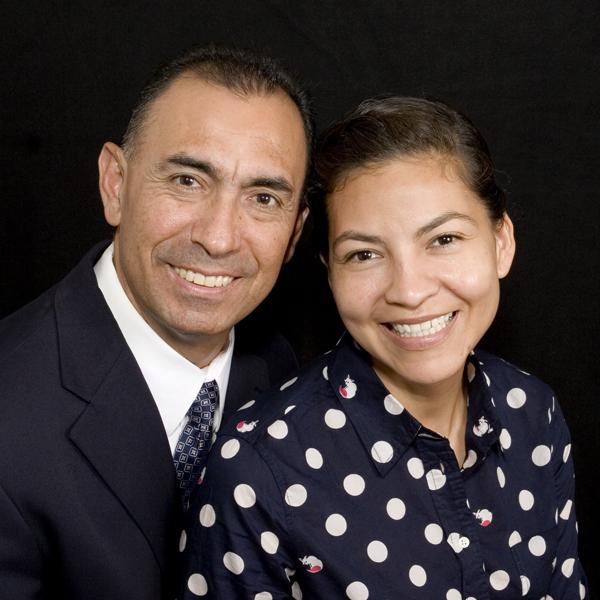 Rufino y Gaby Flores