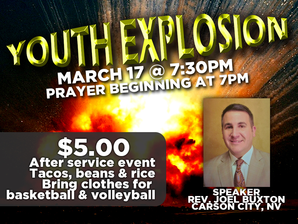 March 17 | Youth Explosion