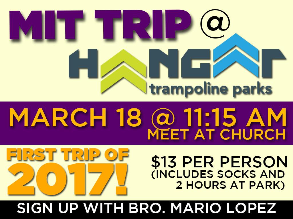 Mar 18, 2017   MIT Trampoline Park Trip