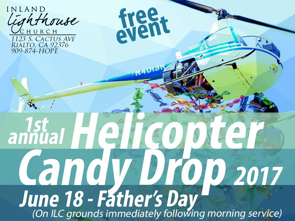 June 18 | Helicopter Candy Rain