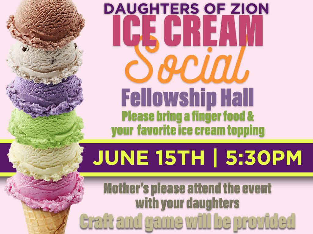 DOZ – Ice Cream Social | June 15, 2018