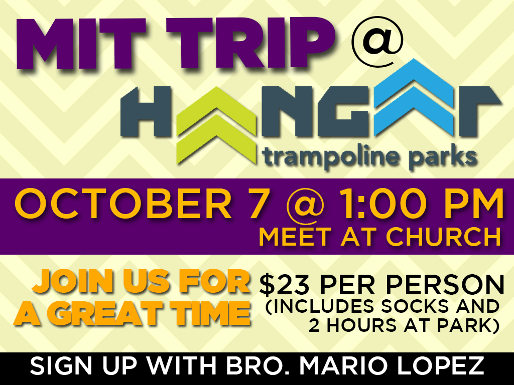 October 7, 2017 | MIT Trampoline Park Trip