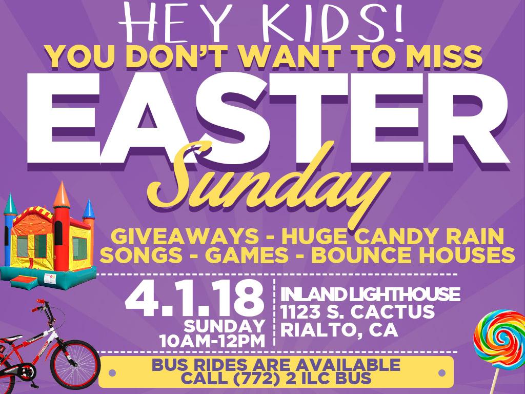 Easter for Kids   April 1, 2018