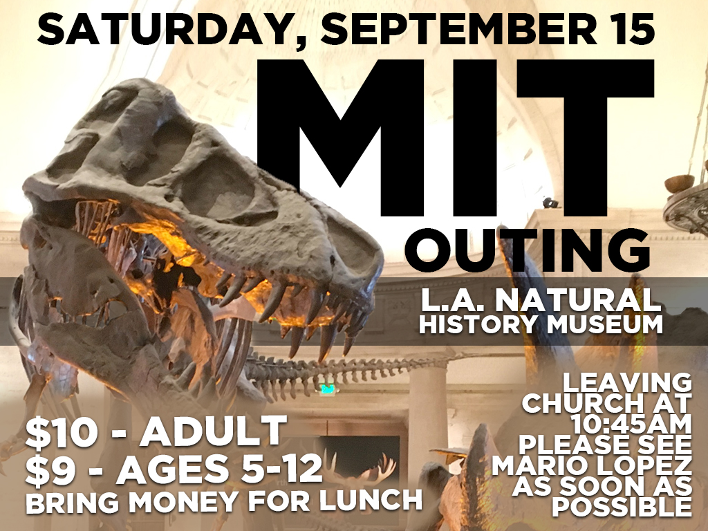 MIT Outing | Sep 15, 2018