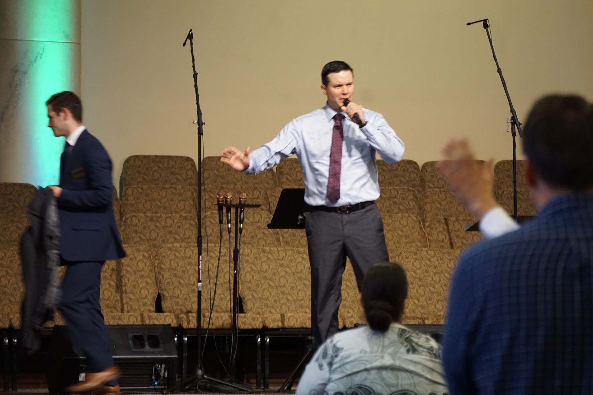 Service with Rev. Nathaniel Urshan | August 12, 2018