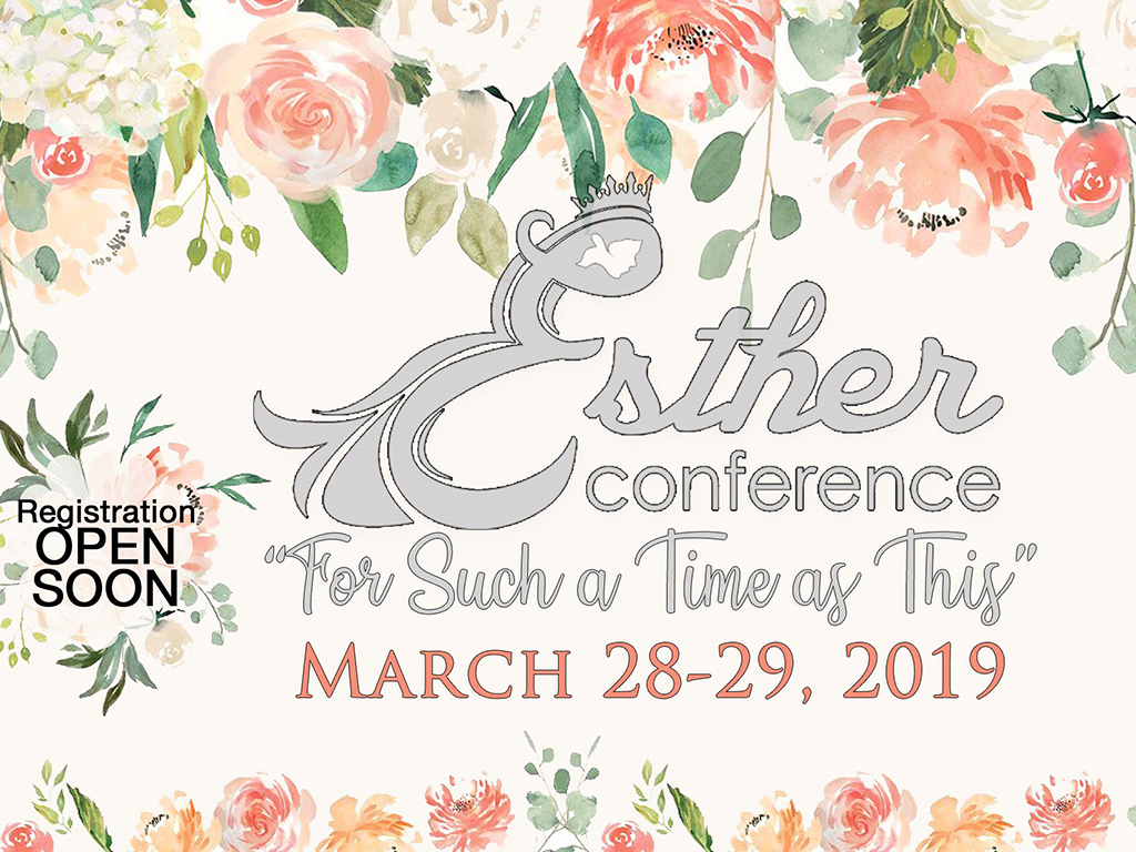 Esther Conference | March 28-29, 2019