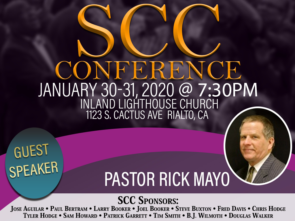 SCC Conference | January 30, 2020