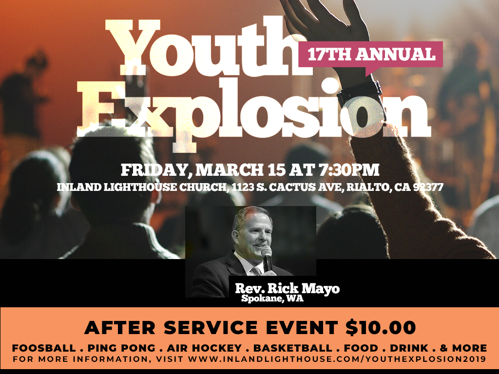 Youth Explosion | March 15, 2019