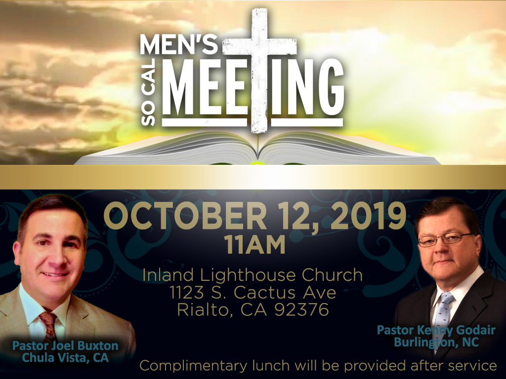 SCC Men's Meeting | October 12, 2019