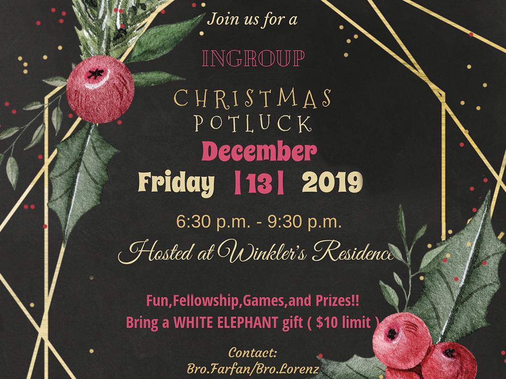 inGroup Christmas Party   December 13, 2019