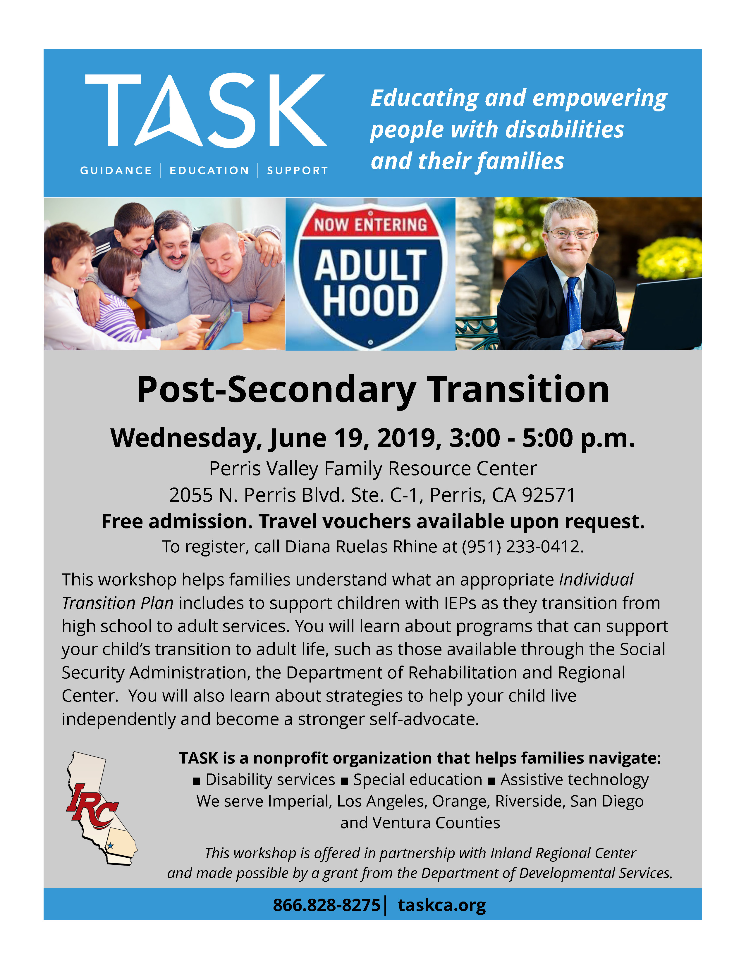 Post Secondary Transition Workshop