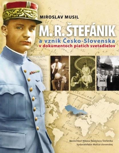 Obálka knihy M. R. Stefánik od autora: Miroslav Musil - INLIBRI