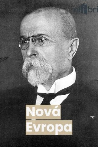Ilustrácia knihy Nová Evropa od autora: T.G. Masaryka