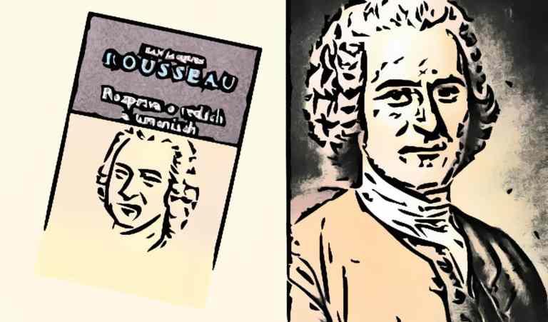 Ilustráciu k recenzii Rousseau - INLIBRI