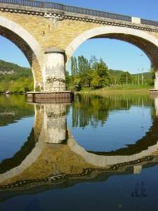 Canoeing Dordogne, France