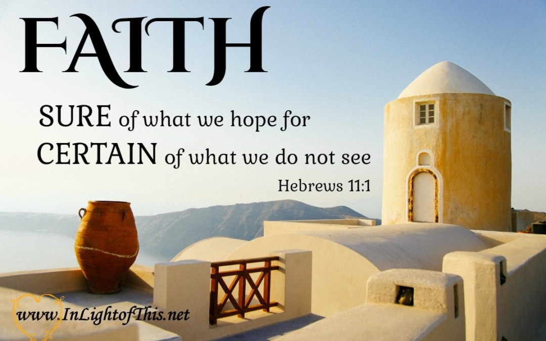 Do You See the Beauty of Faith?