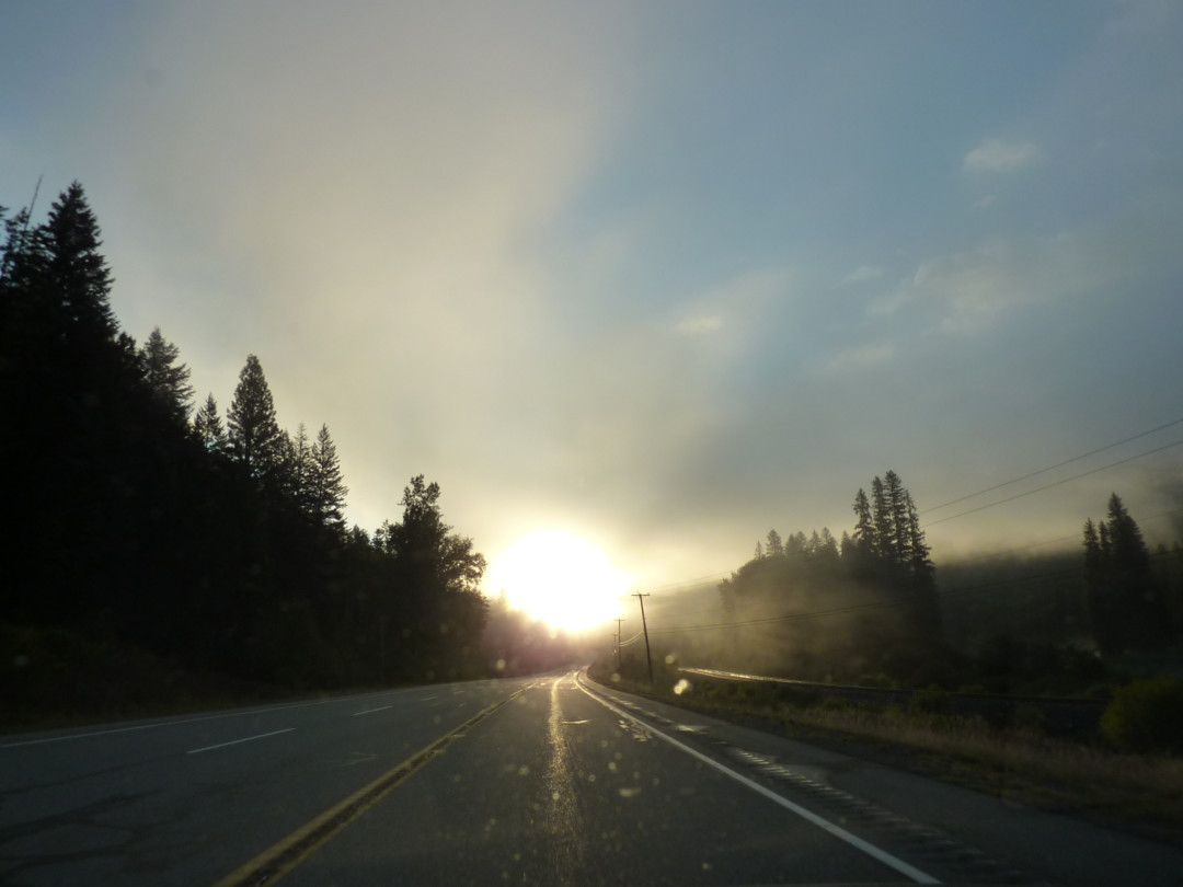 Sunrise on the Road
