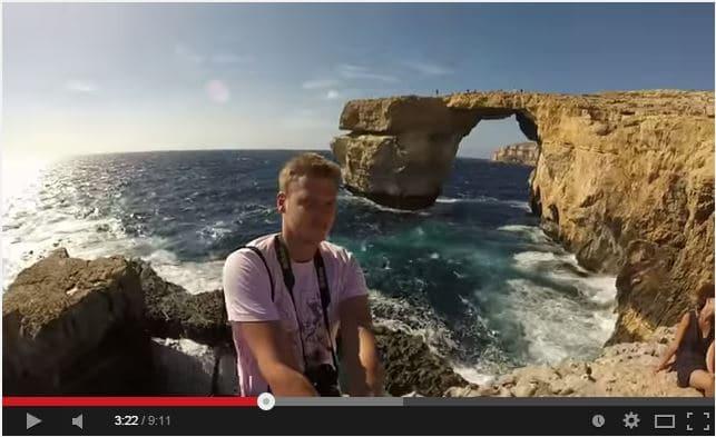 Karaševskis' Holiday in Malta September 2014