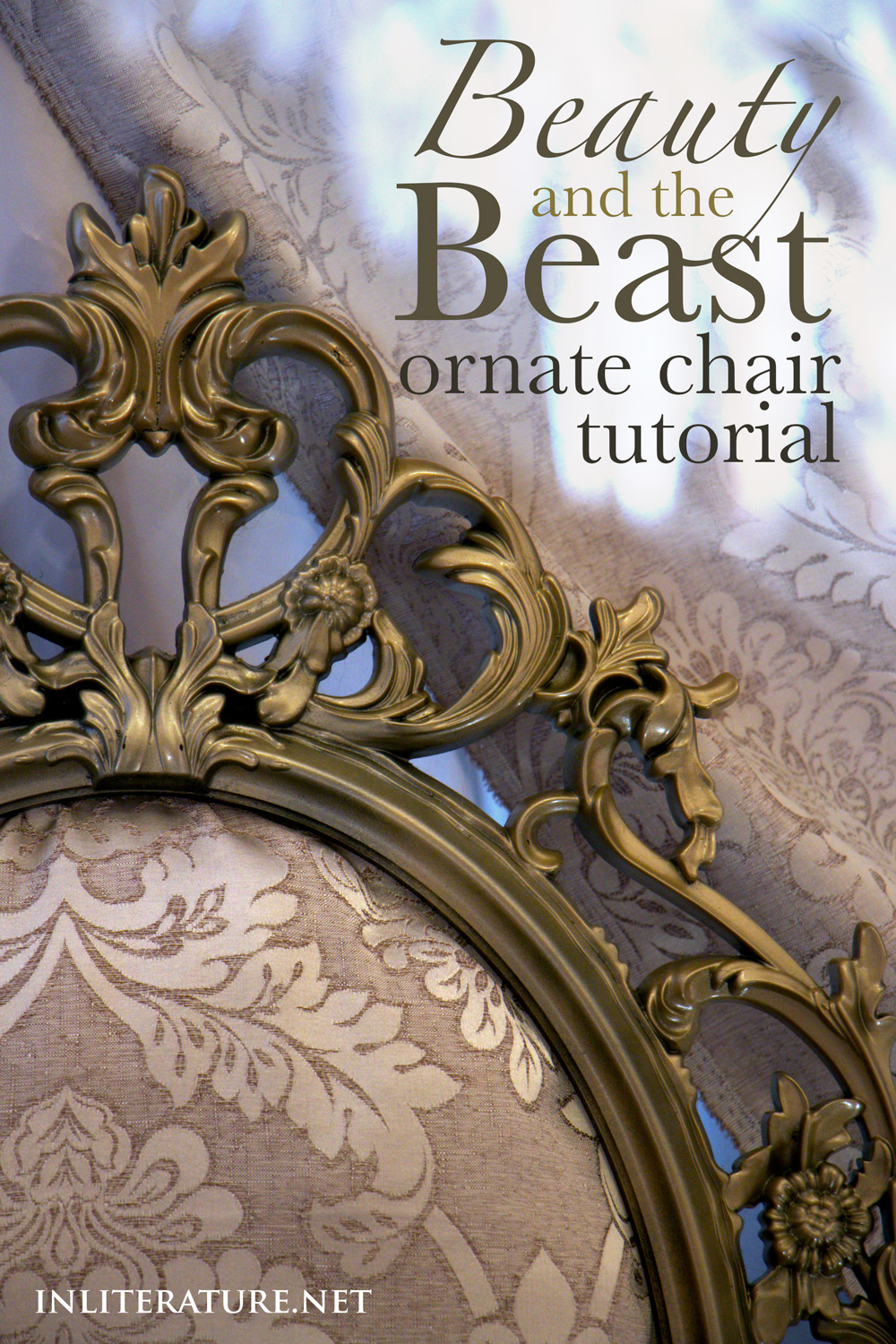 Beauty And The Beast Ornate Chair Tutorial In Literature