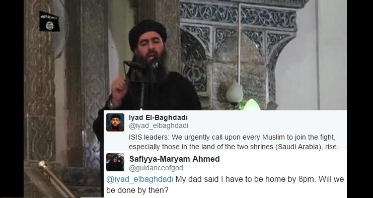 leader of the militant Islamic State Abu Bakr al-Baghdadi