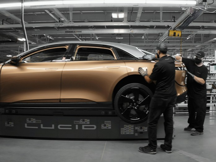 Lucid Motors Completes Electric Vehicle Plant In Pinal County Video Inmaricopa