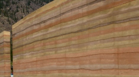 Insulated rammed earth walls: Upgraded beauties.
