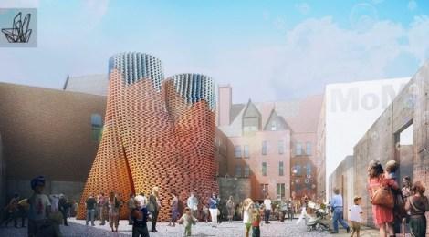 David Benjamin's Hy-Fi biodegradable tower