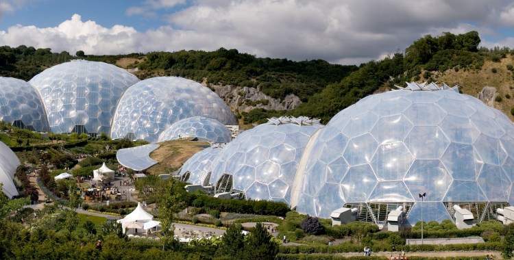 Eden Project The Biomes: by Grimshaw Architects, UK