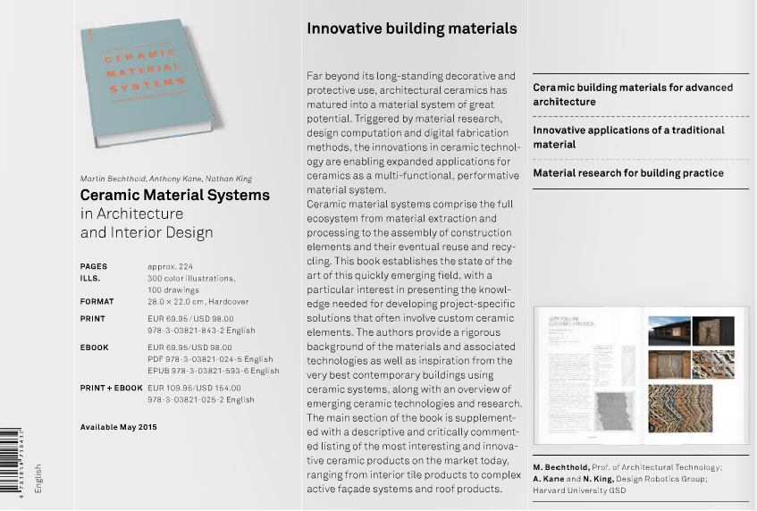 A List Of Books On Materials And Architecture For You To Getin 2015