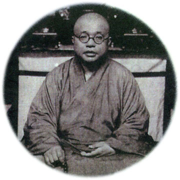 Taixu (1890-1947), réformateur du bouddhisme chinois © Inmediahk.net