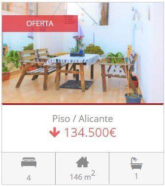 Inmobiliaria Alicante piso en venta en alicante centro