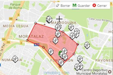 dibuja tu zona para webs inmobiliarias