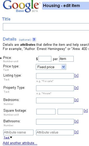 Atributos en inmobiliaria