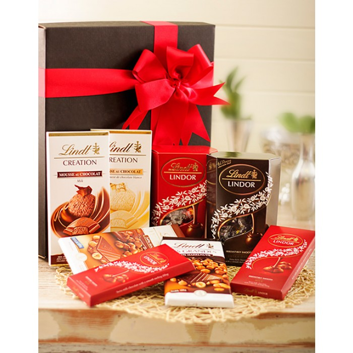 Lindt Chocolate Deluxe Hamper Chocolates In Gift Box