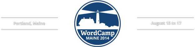 WordCamp Maine 2014 header