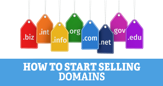 How to Start Selling Domains