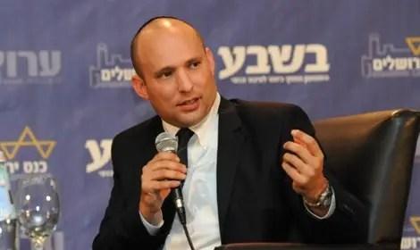 Ministro Naftali Bennett