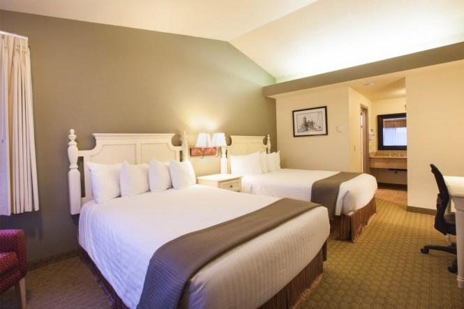 Double Queen Bed