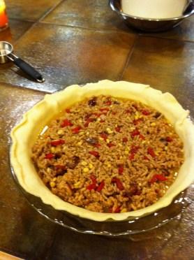 Aaron Miller's gogi pork pie