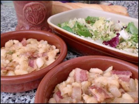 JP Betanzos' White Beans and Bacon
