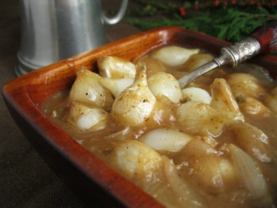 Onions in Gravy