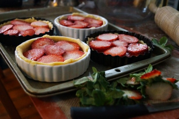 Medieval Strawberry Tart | Inn at the Crossroads